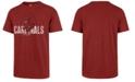 '47 Brand Men's St. Louis Cardinals Scrum Coop Logo T-Shirt