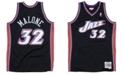 Mitchell & Ness Men's Karl Malone Utah Jazz Hardwood Classic Swingman Jersey