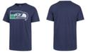 '47 Brand Men's Seattle Seahawks Knockout Fieldhouse T-Shirt