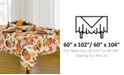 "Elrene Grateful Season 60"" x 102"" Tablecloth"