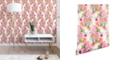 Deny Designs Ninola Design Flowers Sweet Bloom Pink 2'x10' Wallpaper