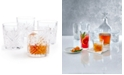Martha Stewart Collection CLOSEOUT! Martha Stewart  Collection Set of 4 Cut-Glass Double Old Fashion Glasses, Created for Macy's