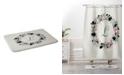 Deny Designs Iveta Abolina Silver Dove Christmas L Bath Mat