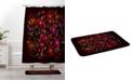 Deny Designs Iveta Abolina Silent Night Red Bath Mat