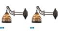 ELK Lighting Mix-N-Match 1-Light Swingarm Sconce in Tiffany Bronze - LED Offering Up To 800 Lumens (60 Watt Equivalent)