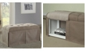 Furniture of America Hampton Transitional Storage Bench collection