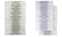 """Hotel Collection Textured Stripe Cotton 22"""" x 36"""" Bath Rug, Created for Macy's"""