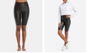 SPANX Faux-Leather Bike Shorts