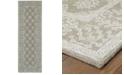 """Oriental Weavers Manor 81202 Gray/Beige 2'6"""" x 8' Runner Area Rug"""
