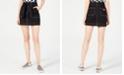 Dickies Cotton Tie-Belt Utility Skirt