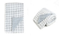 Sleeping Partners Tadpoles Plush Double Layer Baby Blanket, Houndstooth