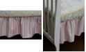 3 Stories Trading Nurture Pink Stripe Dust Ruffle
