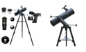 Cosmo Brands Cassini 640 X 102mm Tracker Mount Astronomical Telescope and Red Dot Finderscope