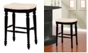 Linon Home Decor Marino Backless Bar Stool