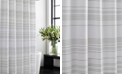 Vera Wang Irregular Stripe Shower Curtain