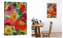 """iCanvas """"Love Flowers I"""" By Kim Parker Gallery-Wrapped Canvas Print - 60"""" x 40"""" x 1.5"""""""