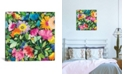 """iCanvas """"Frida'S Dream"""" By Kim Parker Gallery-Wrapped Canvas Print - 37"""" x 37"""" x 0.75"""""""