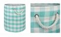 Design Imports Paper Bin Checkers, Round