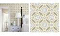 "Brewster Home Fashions Maya Medallion Wallpaper - 396"" x 20.5"" x 0.025"""