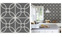"Brewster Home Fashions Savvy Geometric Wallpaper - 396"" x 20.5"" x 0.025"""