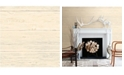 """Brewster Home Fashions White Washed Boards Wallpaper - 396"""" x 20.5"""" x 0.025"""""""