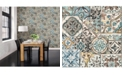 "Brewster Home Fashions Marrakesh Tiles Wallpaper - 396"" x 20.5"" x 0.025"""