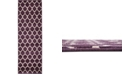 Bridgeport Home Arbor Arb1 Purple 2' x 6' Runner Area Rug
