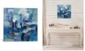 "iCanvas Ultramarine Waves Ii by Silvia Vassileva Gallery-Wrapped Canvas Print - 26"" x 26"" x 0.75"""
