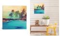 "iCanvas Palm Island I by Irena Orlov Gallery-Wrapped Canvas Print - 37"" x 37"" x 0.75"""