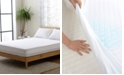 Cheer Collection Knitted Fabric Waterproof Twin XL Mattress Protector
