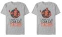 Marvel Men's Deadpool I Workout For Tacos, Short Sleeve T-Shirt