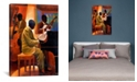 """iCanvas Piano Man by Keith Mallett Wrapped Canvas Print - 40"""" x 26"""""""