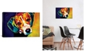 "iCanvas Beagle Bailey by Dawgart Wrapped Canvas Print - 18"" x 26"""