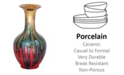 "Heather Ann Creations Phoebe Collection 18"" Ceramic Vase"