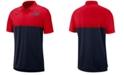 Nike Men's Ole Miss Rebels Dri-Fit Colorblock Breathe Polo