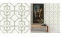 "A-Street Prints 20.5"" x 396"" Verandah Moss Shibori Wallpaper"