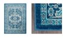"Global Rug Designs CLOSEOUT! Global Rug Design Venus VEN01 Blue 7'9"" x 10'2"" Area Rug"