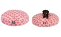 Majestic Pet Links Cotton Twill Round Dog Bed