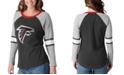 G-III Sports Women's Atlanta Falcons Long Sleeve Top Pick T-Shirt
