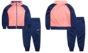 Nike Baby Girls 2-Pc. Colorblocked Zip Jacket & Jogger Pants Set