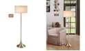 "Artiva USA Florenza 63"" Dual Light LED Floor Lamp with Dimmer"