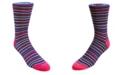 DUCHAMP LONDON Men's Stripe Dress Sock