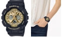 G-Shock Women's Analog-Digital Black Resin Strap Watch 43.3mm