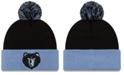 New Era Memphis Grizzlies Black Pop Knit Hat