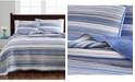 Martha Stewart Collection Coastal Yarndye Twin Quilt, Created for Macy's