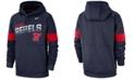 Nike Men's Ole Miss Rebels Therma Sideline Hooded Sweatshirt