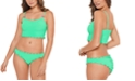 Salt + Cove Juniors' Pucker Up Bikini Top & Ruffled Bottoms, Created for Macy's