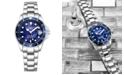 Stuhrling Women's Silver Tone Stainless Steel Bracelet Watch 32mm