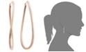 Macy's Figure 8 Hoop Earrings in 14k Rose Gold Vermeil, 60mm