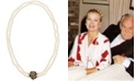 Grace Kelly Collection 18k Gold Plated Dual Strand Long Necklace